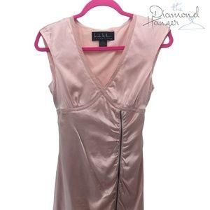 NICOLE MILLER Designer Dress Size 4 Small S Pink S